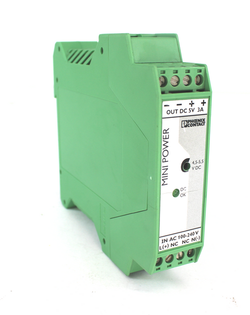 Phoenix Contact Mini-PS-100-240AC/5DC/3 Mini Power Supply