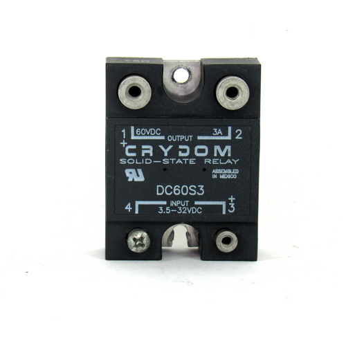 Crydom DC60S3 Solid State Relay, 60V DC
