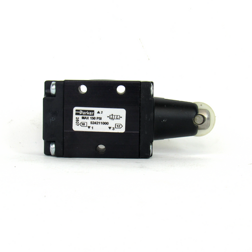 Parker 524211000 Manual Air Control Valve, 3-Way, 2-Position