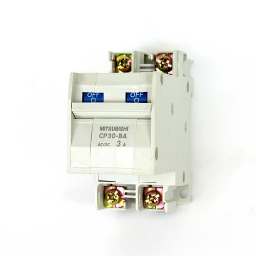 Mitsubishi CP30-BA Circuit Protector, 2-Pole, 3 Amp, NEW