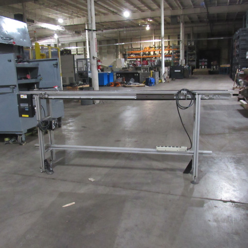 """MK Automation 7 Foot Conveyor with 7 1/2"""" Belt, with Speed Controller"""