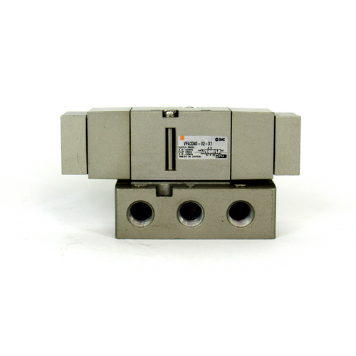 SMC VFA3340-02-X1 Air Operated Valve, Base Mounted, 0.15~0.9MPa
