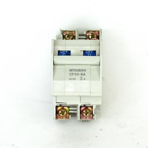 Mitsubishi CP30-BA Circuit Protector, 3 A, 2-Pole