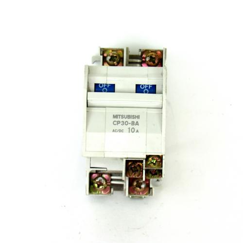 Mitsubishi CP30-BA Circuit Protector, 2-Pole, 10 A
