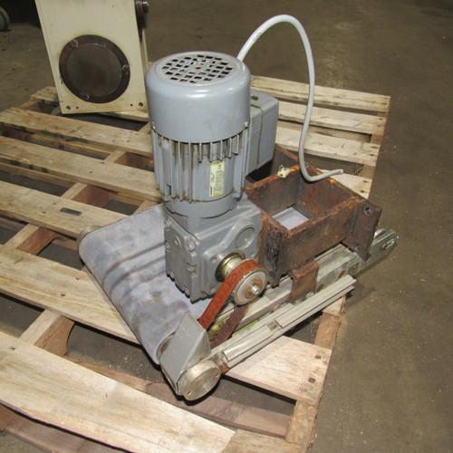 """18"""" Belt Conveyor, with 10"""" Belt and Flender CA10-G56M2 Motor"""