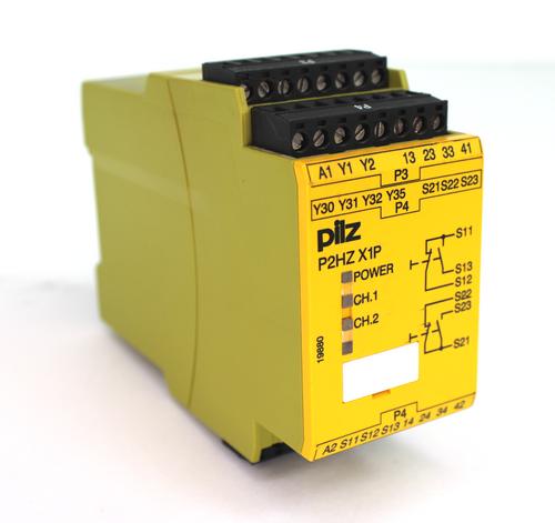 Pilz P2HZ X1P 24VDC 3n/o 1n/c Two Hand Control Unit 777340