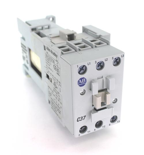 Allen Bradley 100-C37UDJ10 Contactor 24VDC, 25 Hp 3 Pole 65 Amp New