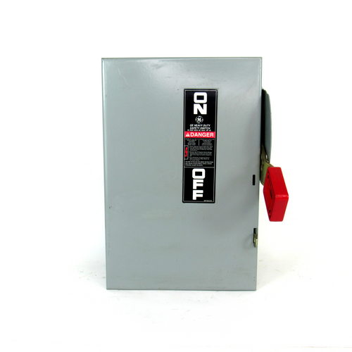 General Electric TH3361 Safety Switch, 600V AC / 250V DC