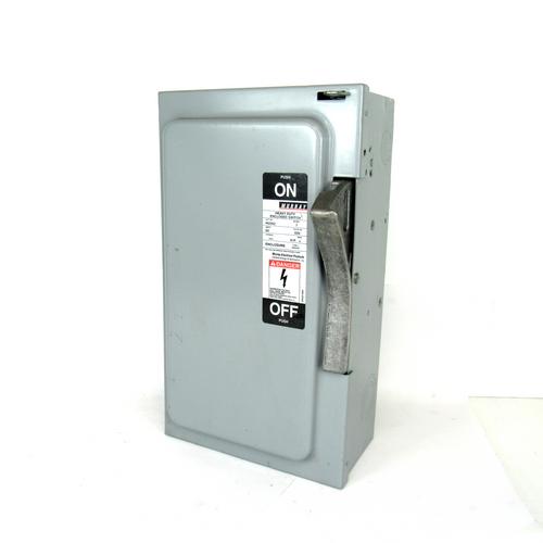 Murray Electrical HU362 Heavy Duty Enclosed Switch, 600V AC, 3-Phase