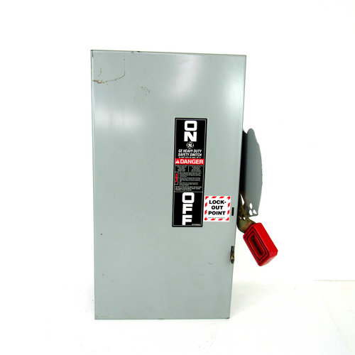 General Electric TH4322 Heavy Duty Safety Switch, 240V AC, 250V DC