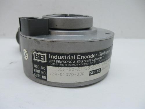 BEI Industrial Encoder 924-01070-390/XH335F-50-R1-SS-5000-ABZC-4469-SM18 Encoder