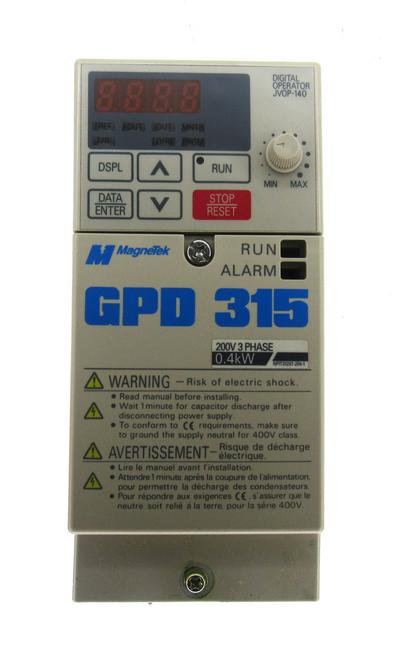 MagneTek MVA003 AC Drive GPD 315 0.4kW, NEW