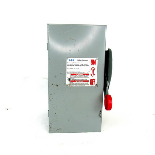 Eaton Cutler Hammer DH361FGK 30 Amp Heavy Duty Safety Switch