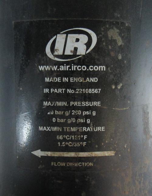 Ingersoll Rand 22108567 Particulate Filter