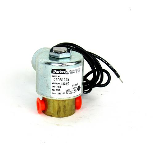 Parker C2DB11328 Solenoid Shutoff Valve, 8 Watt, 120V