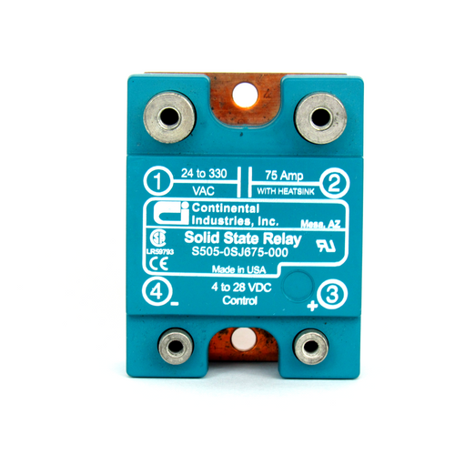 Continental Industries S505-0SJ675-000 Solid State Relay, 4-28V DC