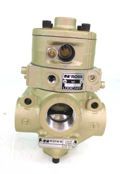 Ross 2783A5002 3/4 3 Way Normally Closed Air Piloted Valve New
