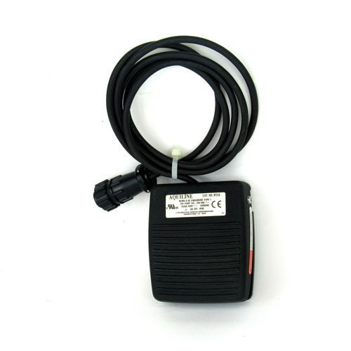 Linemaster Aquiline 972-S Foot Switch, 125-250V AC, 15A