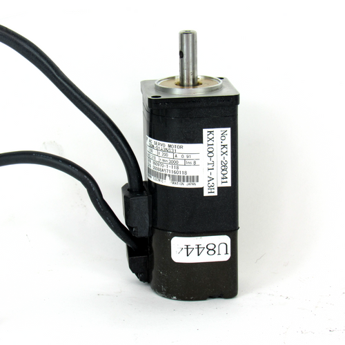 Yaskawa Electric SGM-01A3NS31 AC Servo Motor, 200V, 100W