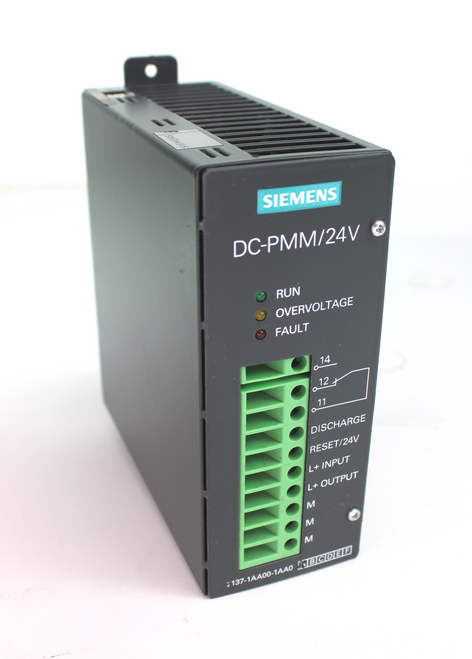 Siemens 9AL2137-1AA00-1AA0 Power Management Module DC-PMM/24V
