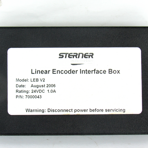 Sterner Automation LEB V2 Linear Encoder Interface Box, 24V DC, 1.0 A