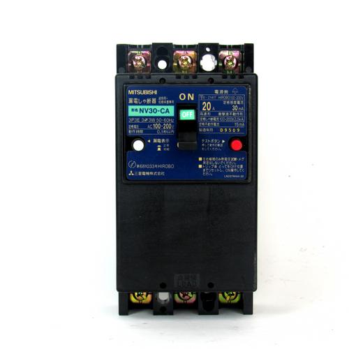 Mitsubishi NV30-CA Circuit Breaker, 20 Amp, 100-200V AC