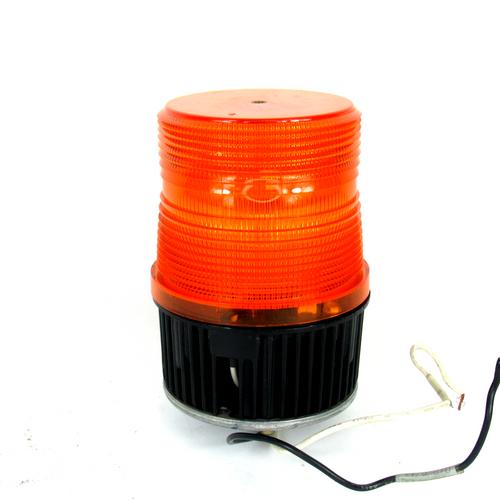 Federal Signal FB2PST-120A Amber Fireball II Strobe Light, 120V AC, NEW