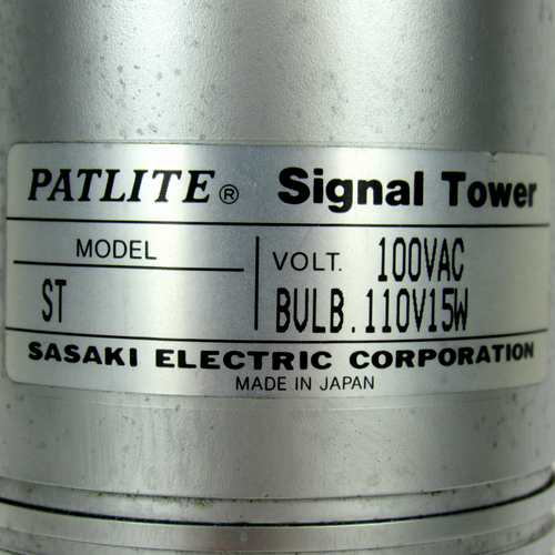 Patlite ST Signal Tower Red/Amber With Base 100 Vac