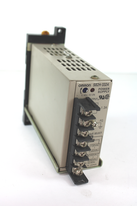 Omron S82H-3324 Power Supply 24VDC 1.3Amps 120/240 VAC