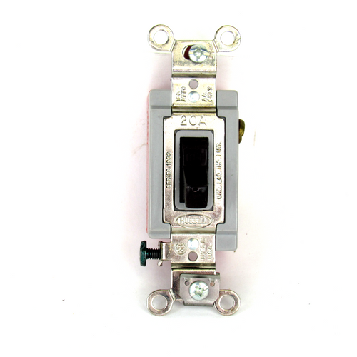 Hubbell HBL1221 Maintained, Toggle Wall Switch, 1-Pole, 120-277V AC