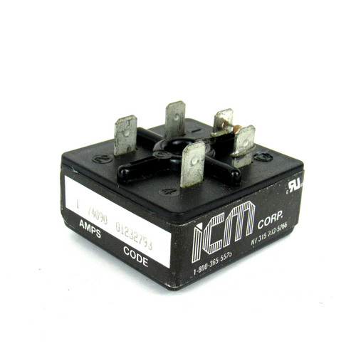 ICM Controls IMS120A1X60A Time Delay Relay, 120V AC, 1 A