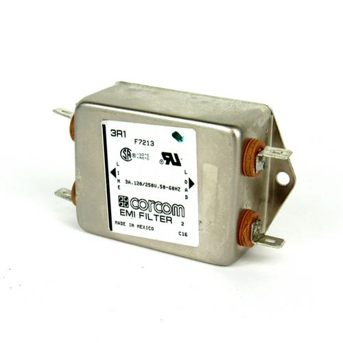 Corcom 3R1 F7213 EMI Filter, 120/250V