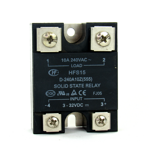 Hongfa HFS15 Solid State Relay, 10A, 240V AC