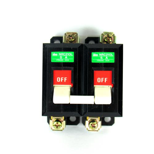 Idec NRC210L Circuit Protector, 5 A, 250V