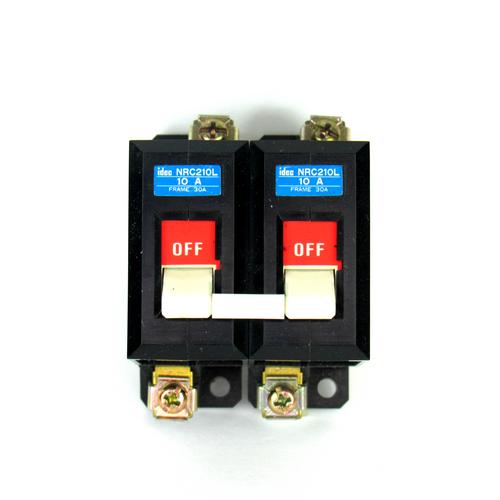 Idec NRC210L Circuit Protector, 10 A, 250V