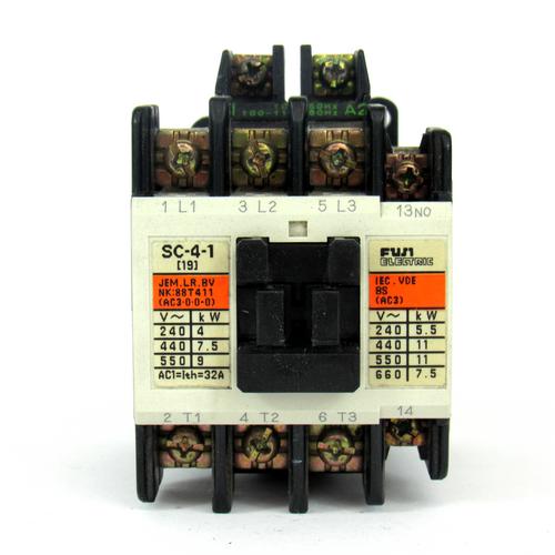 Fuji Electric SC-4-1 Contactor, 32 A, 690V AC