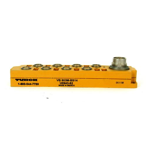 Turck VB 803M-BS14 Junction Box, 8-Port