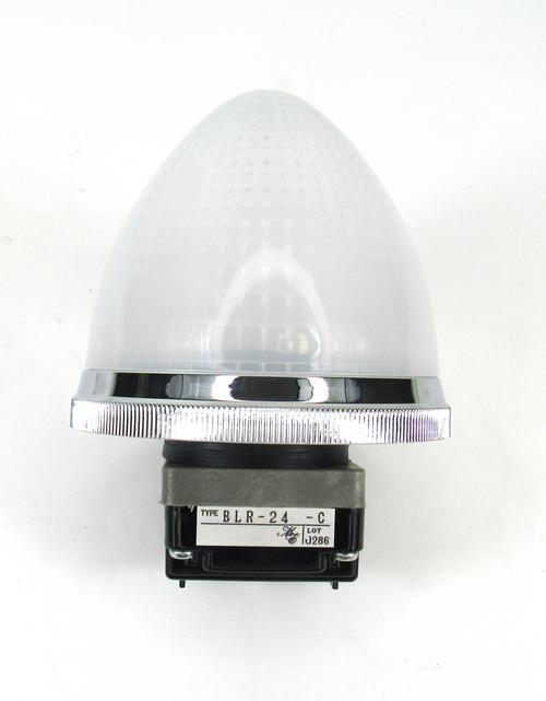 Maruyasu Electric Ltd. BLR-24-C White Indicator Light NEW