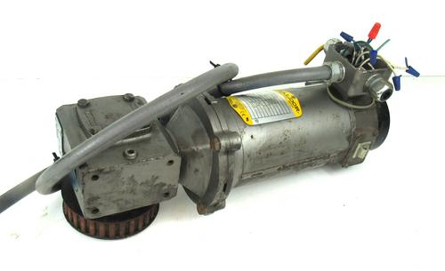 Baldor CDP3320 Electric Motor w/ Boston Gear F71315B5J Speed Reducer