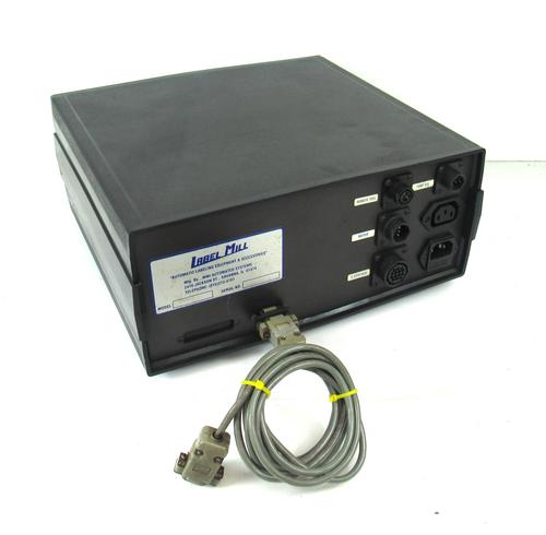 MMI Automated Systems Label Mill 3500 Remote Micro-Processor Control