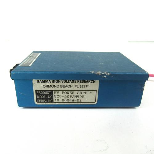 Gamma High Voltage Research UC5-20P/M52B Power Supply