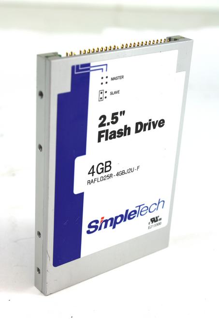 """SimpleTech 4GB 2.5"""" Flash Drive, RAFLD25R-4GBJ2U-F"""