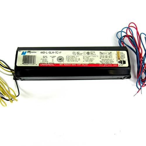 MagneTek 443-L-SLH-TC-P Watt Reducer Rapid Start Ballast, 277V