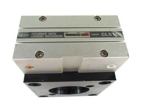 SMC CLS140 Pneumatic Cylinder w/ Locking Mechanism 1.0Mpa