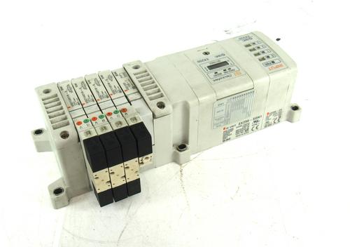 SMC DeviceNet EX250-SDN1 Module Manifold w/ EX250-IE3 Valve