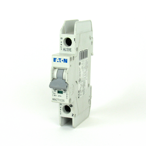 Eaton WMZT1C05 Circuit Breaker, 5A, 277/480V AC