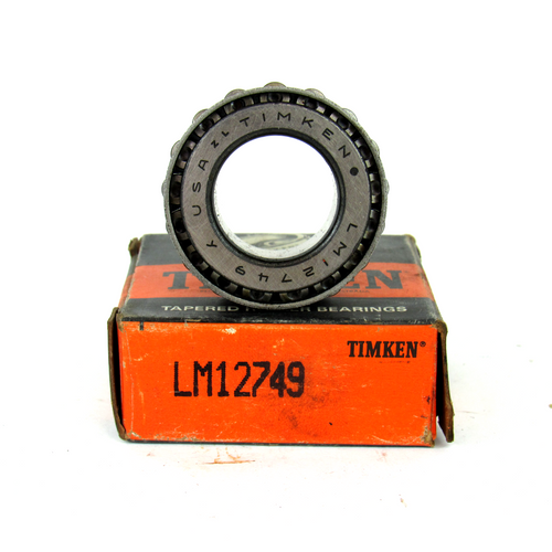 Timken LM12749 Tapered Roller Bearing, 21.986mm