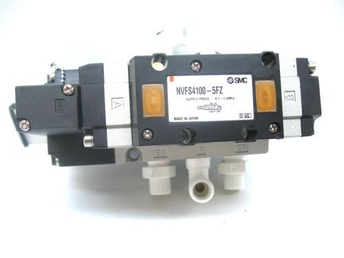 SMC NVFS4100-5FZ Solenoid/Pilot Valve 21-26 Vdc