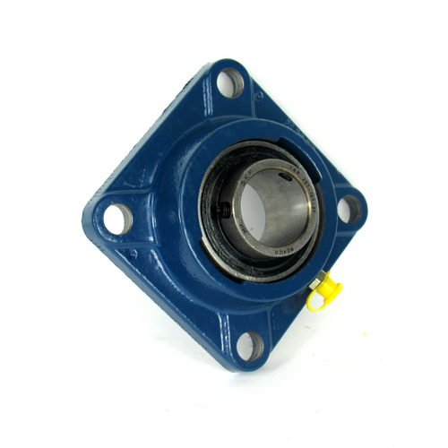 SKF FY 1.7/16 TF Square Flanged Ball Bearing, 4-Bolt, 36.513mm Bore Diameter