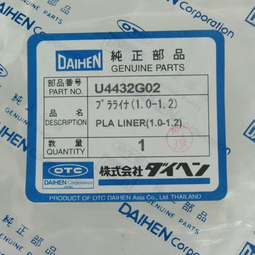 Daihen U4432G02 OTC PLA Liner ( 1.0-1.2)